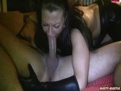 Nasty-nastia Deepthroat Cumshot