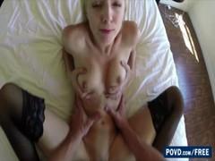 Sexy Blonde Sierra Nevadah Gets Fucked By Boyfriend Upstairs